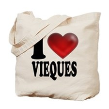 I Heart Vieques Tote Bag