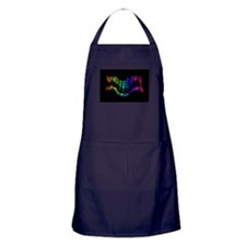 Life without Music would B flat Humor quote Apron