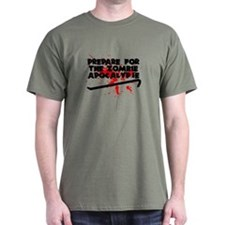 Prepare for the Zombie Apocalypse T-Shirt