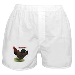 Red Caps Boxer Shorts
