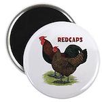 Red Caps Magnet