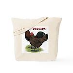 Red Caps Tote Bag