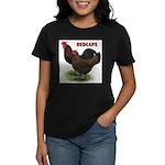 Red Caps Women's Dark T-Shirt