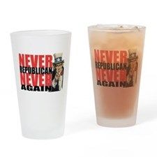 lawn-never-republican.png Drinking Glass