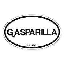 Gasparilla Island Decal
