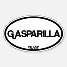 Gasparilla Island Decal