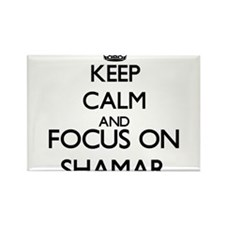 Keep Calm and Focus on Shamar Magnets