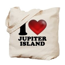 I Heart Jupiter Island Tote Bag