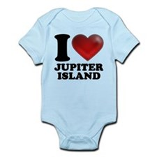 I Heart Jupiter Island Body Suit
