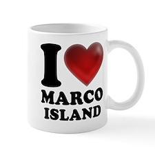I Heart Marco Island Mugs