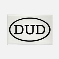 DUD Oval Rectangle Magnet