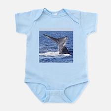 Blue Whale Flukes 3 Body Suit