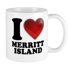 I Heart Merritt Island Mugs