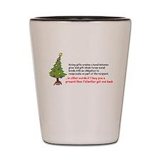 Mauss Gift Giving Shot Glass