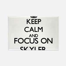 Keep Calm and Focus on Skyler Magnets