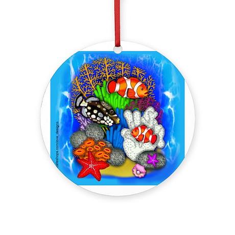 TROPICAL FISH Ornament (Round)