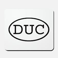 DUC Oval Mousepad