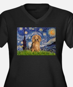 Starry / Doxie (LH-Sable) Women's Plus Size V-Neck