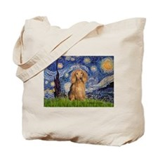 Starry / Doxie (LH-Sable) Tote Bag