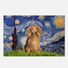Starry / Doxie (LH-Sable) Postcards (Package of 8)