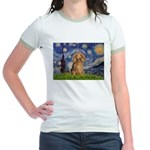 Starry / Doxie (LH-Sable) Jr. Ringer T-Shirt