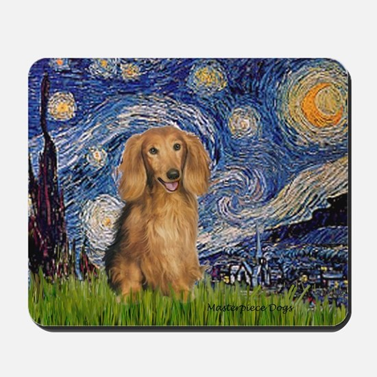 Starry / Doxie (LH-Sable) Mousepad