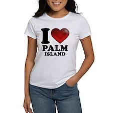 I Heart Palm Island T-Shirt