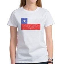 Distressed Chile Flag T-Shirt