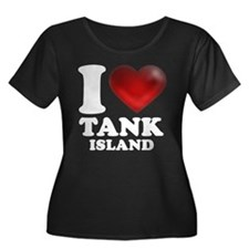 I Heart Tank Island Plus Size T-Shirt