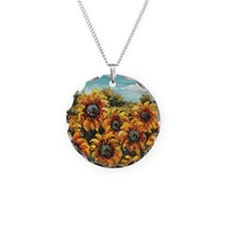 Country Sunflower Necklace