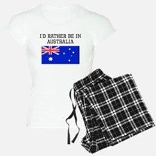 Id Rather Be In Australia Pajamas