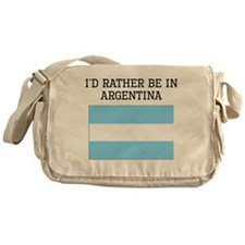 Id Rather Be In Argentina Messenger Bag