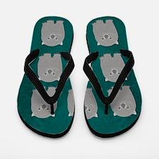 Wombat Flip Flops