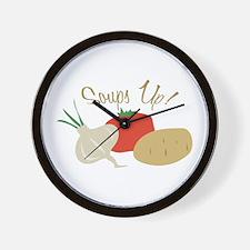 Start of Tasty Wall Clock