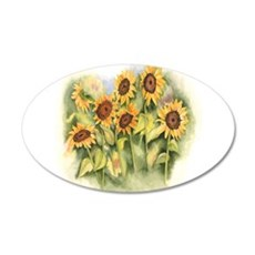 Field of Sunflower Wall Decal