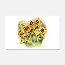 Field of Sunflower Car Magnet 20 x 12