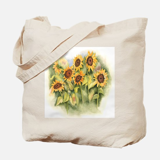 Field of Sunflower Tote Bag