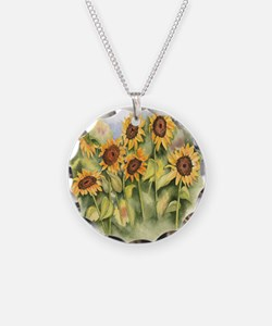 Field of Sunflower Necklace