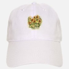 Field of Sunflower Baseball Baseball Baseball Cap