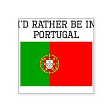 Id Rather Be In Portugal Sticker