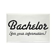 Bachelor Rectangle Magnet