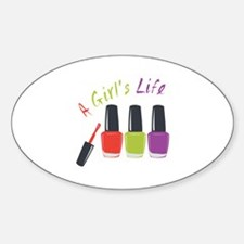 A Girls Life Decal
