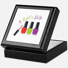 A Girls Life Keepsake Box