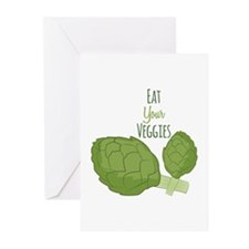 Eat Your Veggies Greeting Cards