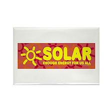 Solar - Energy For All Rectangle Magnet (10 pack)