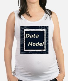 Data Model Maternity Tank Top