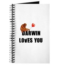 Darwin Loves You Journal