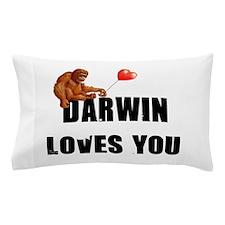 Darwin Loves You Pillow Case