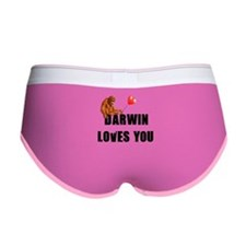 Darwin Loves You Women's Boy Brief