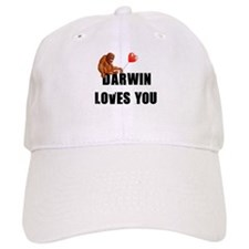 Darwin Loves You Baseball Cap